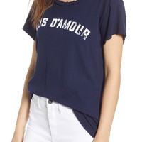 Current/Elliott The Relaxed Crew Tee   Nordstrom