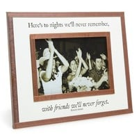 Ben's Garden 'Here's to Nights' Picture Frame (4x6)
