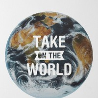 Take On The World Wall Decal - Urban Outfitters