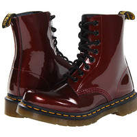 Dr. Martens Pascal 8-Eye Boot W Pewter Spectra Patent - Zappos.com Free Shipping BOTH Ways