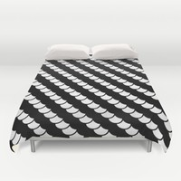 Spinal Stripes Duvet Cover by RichCaspian