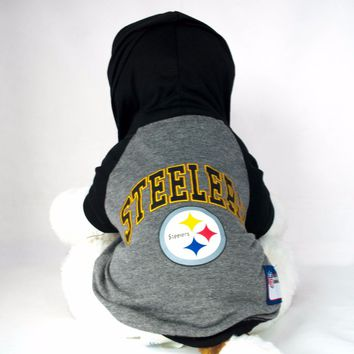 Pittsburgh Steelers Hoodie Dog Shirt NFL Football Official License Pet Product