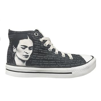 Original Frida Kahlo High Top Shoes
