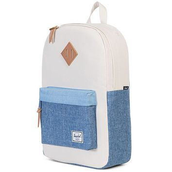 Heritage Mid Volume Backpack in Chambray Crosshatch by Herschel Supply Co.