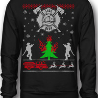 EXCLUSIVE Firefighters Ugly Christmas Sweatshirt - Limited Edition!