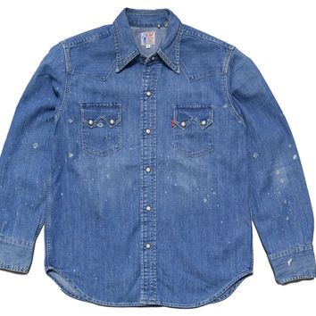 Levis Vintage Clothing Sawtooth shirt
