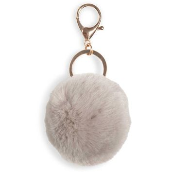 SUAVE grey tassel key ring | Maisons du Monde