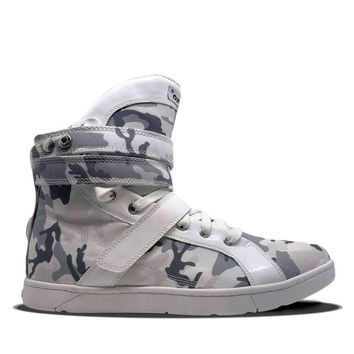 Arctic Camo White Super Shift Hightop Sneakers