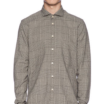 Scotch & Soda L/S Button Down in Black & White