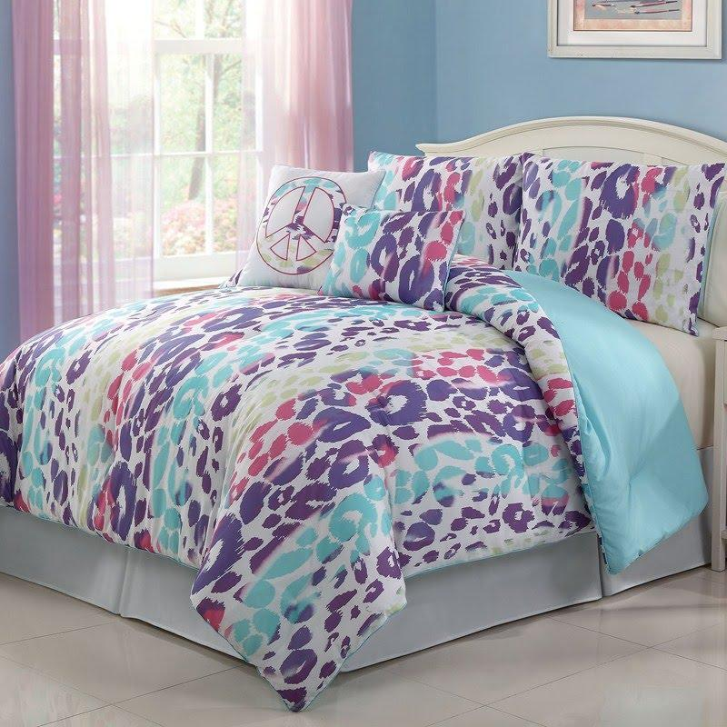 Burlington Coat Factory Home Decor: 4pc Multi Color Bedding Set Twin From Burlington Coat Factory