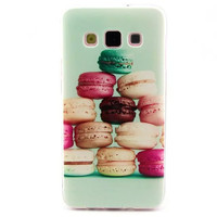 Samsung Galaxy Colorful 3D Print Soft Silicone TPU Back Cover A3 A300 A300F Transparent Side Phone Cases