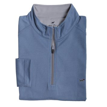 Wellington Pullover in Blue by Southern Point - FINAL SALE