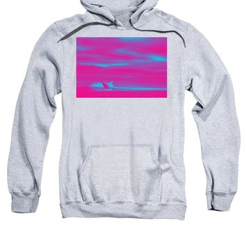 Ocean Sea Wave Whale1 - Sweatshirt