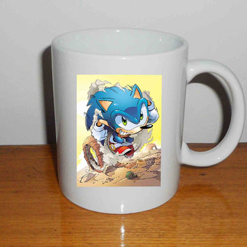 "Sonic The Hedgehog - Mug, Quote Mug, Beyonce Mug, Ceramic Mug, typography, Beyonce Quote, Cup Mug ""NP"""