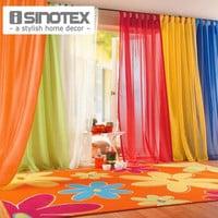 iSINOTEX Window Curtains Hot Sale Solid Color For Living Room Bedroom Curtains Window Home Decor 140*240cm/100*200cm 1PCS