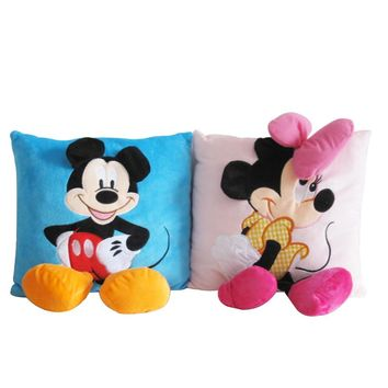 Mickey Mouse and Minnie plush Pillow