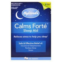 Hylands Homeopathic Calms Forte - Sleep Aid - Case Of 1 - 50 Tablets