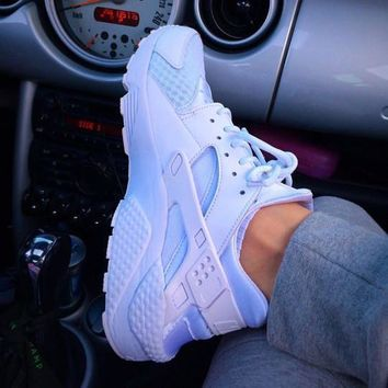 Nike Air Huarache Women Casual Running Sport Shoes Sneakers-8