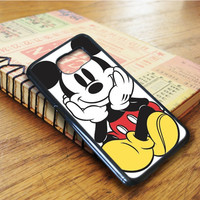 Mickey Mouse Cartoon Samsung Galaxy S6 Edge Case