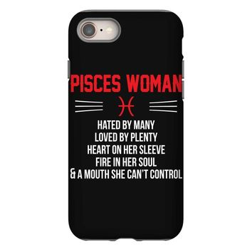 Pisces Woman iPhone 8