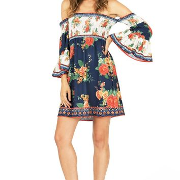Countryside Floral Dress