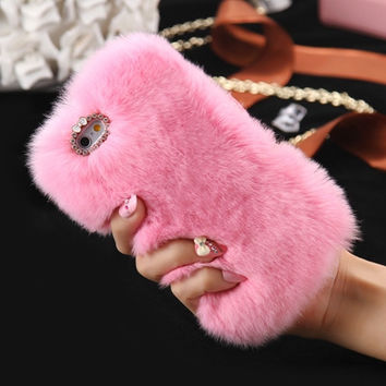Pink Poof Phone Case For All iPhone + All Samsung 2017