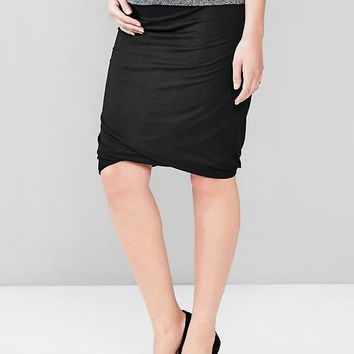 Gap Women Twist Hem Skirt