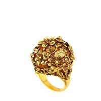 Bill Skinner Floral Ball Ring