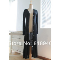 Women Sheer Shirtdress Button Down Maxi Cardigan Skirt Long Beach Summer Black 125cm-in Skirts from Apparel & Accessories on Aliexpress.com