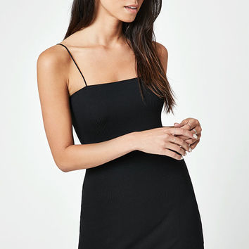 Lisakai Ribbed Cord Strap Bodycon Dress at PacSun.com