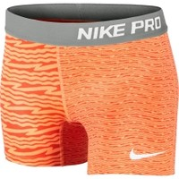 Nike Girls' Pro Core Compression Chevron Printed Capris - Dick's Sporting Goods