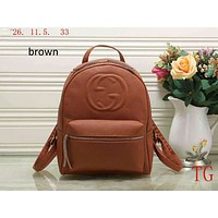 GUCCI counter classic double G backpack backpack Messenger bag F-LLBPFSH Brown