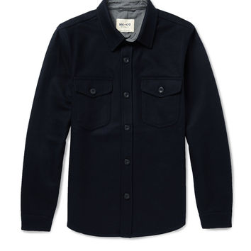 NN.07 - Erik Boiled-Wool Overshirt | MR PORTER