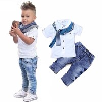 Casual Single Breasted Kids Clothing Sets