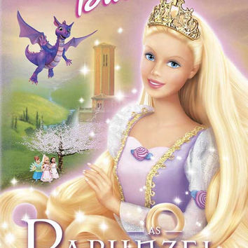 Barbie as Rapunzel 27x40 Movie Poster (2002)