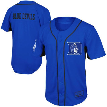 Duke Blue Devils Fielder Baseball Jersey - Duke Blue