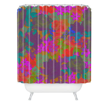 Aimee St Hill Vintage Floral Shower Curtain