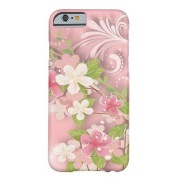 Girly Pink Barely There iPhone 6 Case