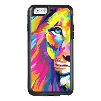 Colorful Lion OtterBox iPhone 6/6s Case