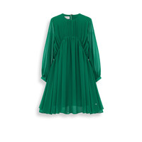 Floaty dress made from green georgette crêpe - Dior