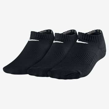 The Nike Performance Cushion No-Show Kids' Socks (3 Pair).