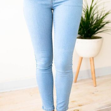 Perfect Posture Basic Skinny Jeans
