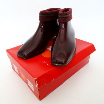 VINTAGE 1960s MARY QUANT BOOTS 4.5