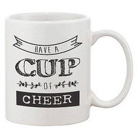 Cute Winter Coffee Mug - Have a Cup of Cheer (JMC008)