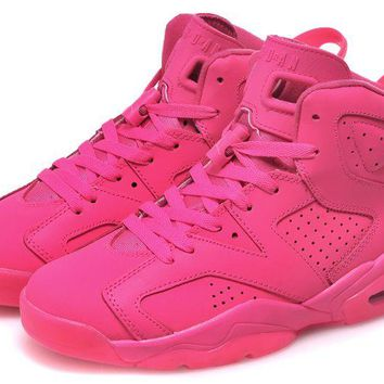 Air Jordan Retro 6 All Pink Online Jordan 6 Pink - Beauty Ticks