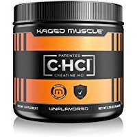 KAGED MUSCLE – Creatine HCl Lemonlime Powder – 75 Servings, Patented Creatine Powder