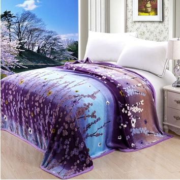 High Density Super Soft Flannel Blanket To on For The Sofa Bed Textile Cute Plush Wool Fluffy Boys Blanket 150cmx200cm
