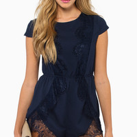 Wilde Heart Can't Leave You Romper $56