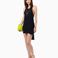 Halter Backless Asymmetric A-line Mini Dress