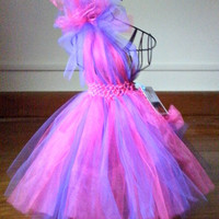 One shoulder tutu dress